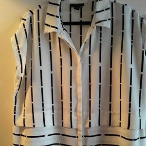 Alfani Striped Sleeveless Tunic